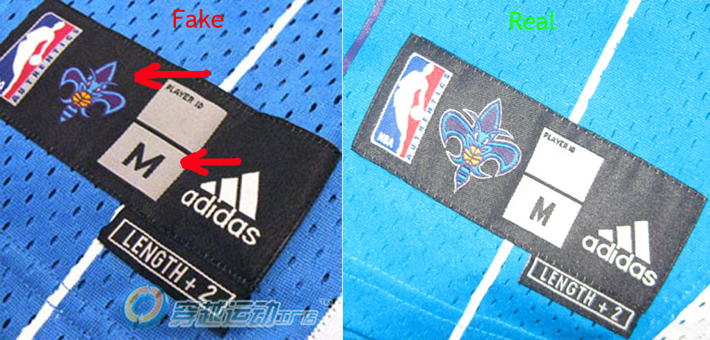 buy online 08af5 93800 How to spot fake NBA swingman Jerseys (On ebay/trademe ...