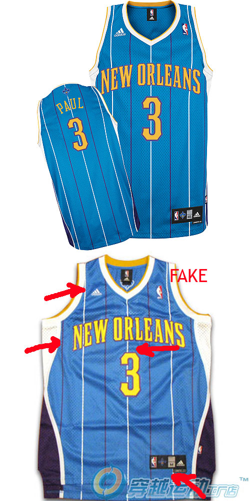 c1d9cfeeaee How to spot fake NBA swingman Jerseys (On ebay trademe anywhere ...