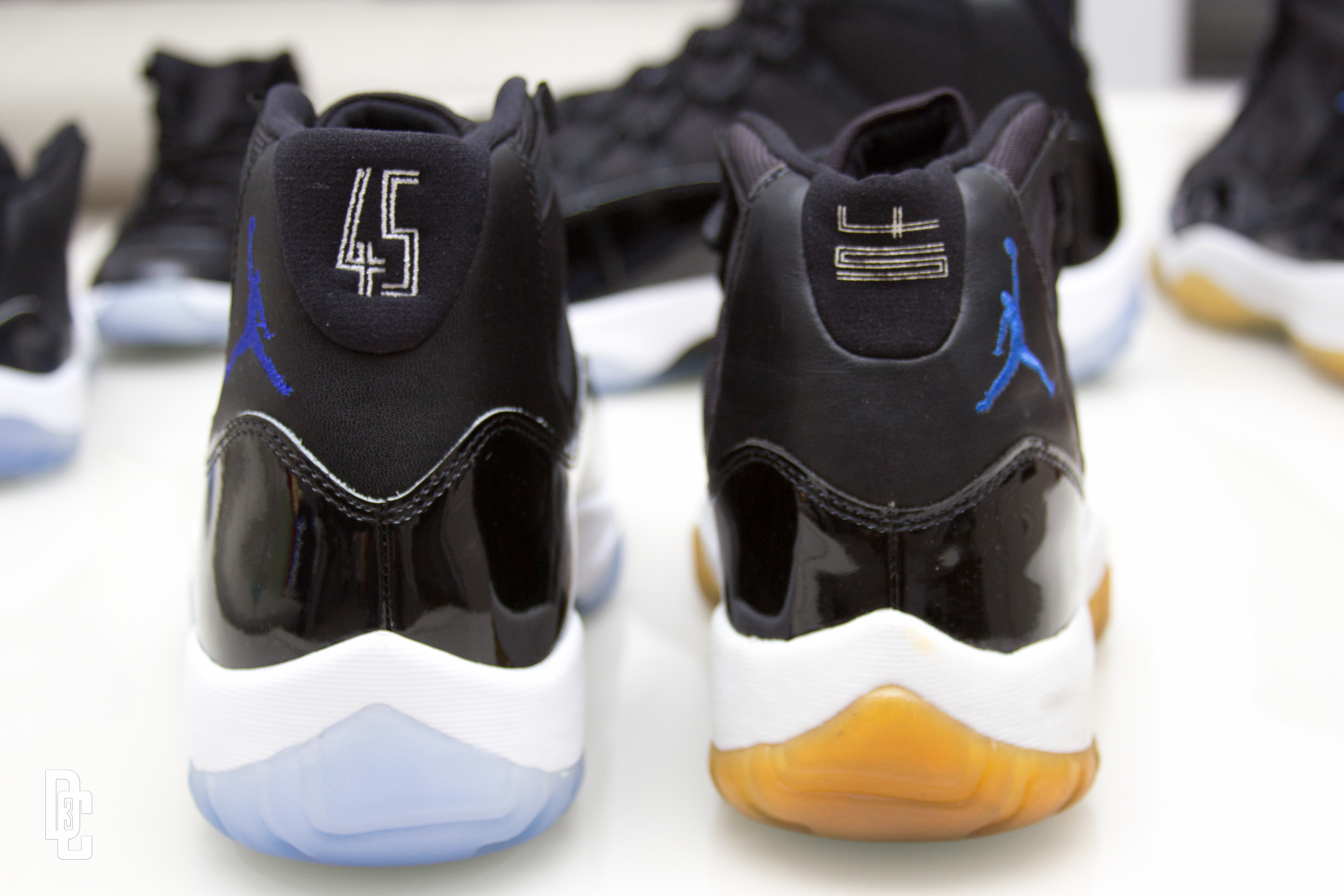 "timeless design f9c4d d96ca Air Jordan XI Space Jam ""45"" Sample is courtesy of Dj Sir-Vere"